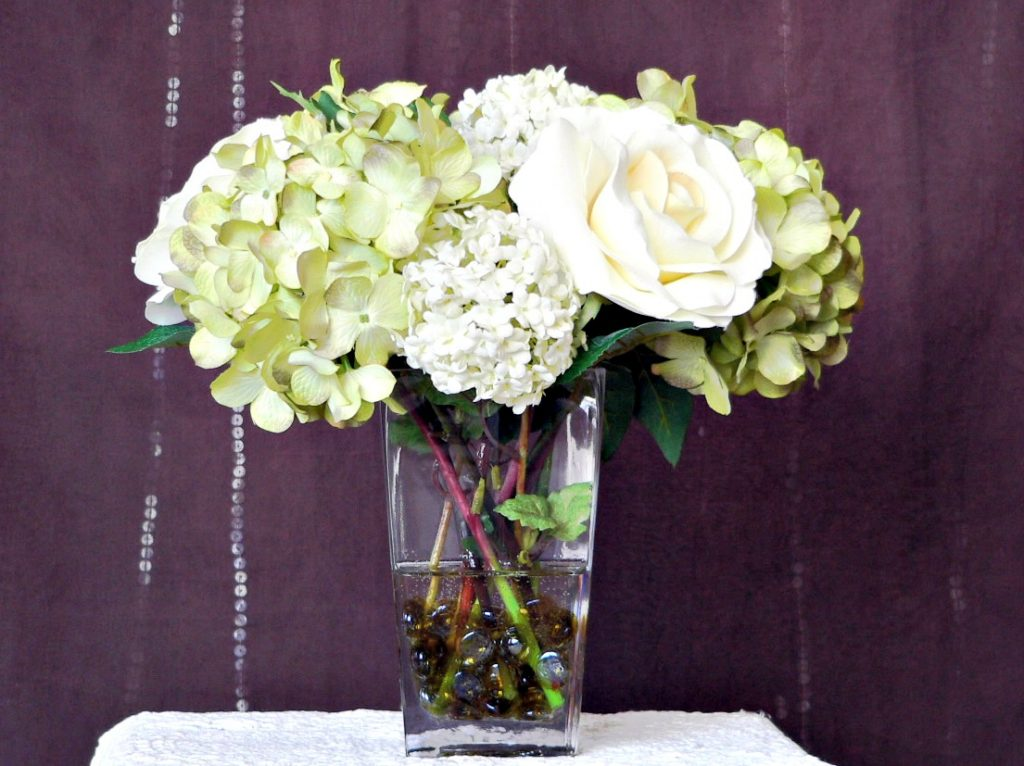 about silk flower arrangements